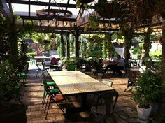 """The Grounds"" cafe, The best cafe in Sydney. Alexandria, Sydney, New South Wales, Australia."