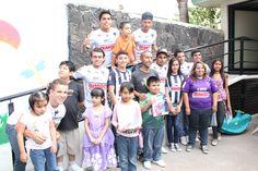 Los #Rayados #Sub20 visitaron a los niños y jóvenes de AMANEC.  Checa el video aquí y compártelo: http://youtu.be/jbJp6w_XgSw