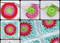 How to Crochet Granny Square Blanket