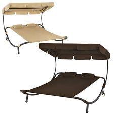 auflage f r gartenliege carla webstoff rauchgrau sun. Black Bedroom Furniture Sets. Home Design Ideas