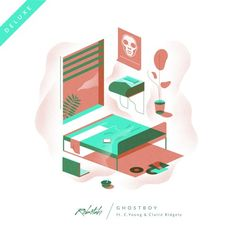 Ghostboy (Deluxe) ft. C. Young & Claire Ridgely by Robotaki