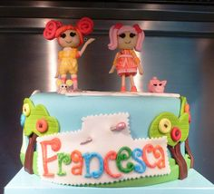 Lalaloopsy cake- like the monogram