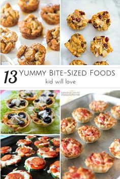 13 Yummy Bite-Sized Foods Kids Will Love