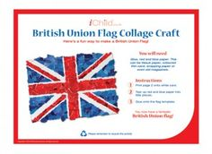 A fun, patriotic activity for your little one. Perfect for celebrating Queen Elizabeth's 90th birthday!
