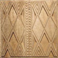 Oshiwa Carved Wood Printing Stamp, Graphic Design, 6.5''x 6.5'', Item 10-16-13. $63,00, via Etsy.
