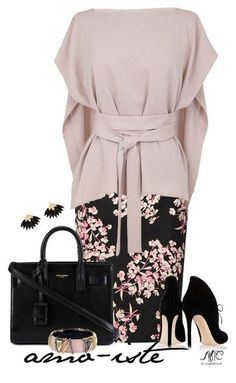 Look oriental style Trend Fashion, Work Fashion, Womens Fashion, Fashion Design, Classy Dress, Classy Outfits, Stylish Outfits, Mode Outfits, Office Outfits