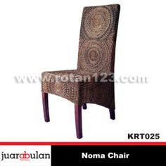 Noma Chair Kursi Rotan Alami KRT025