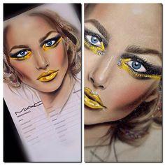 Learn about these mac makeup looks ad# 6004 Kids Makeup, Eye Makeup, Facechart Mac, Photographic Makeup, Mac Face Charts, Mac Makeup Looks, Shadow Face, Makeup Face Charts, Make Up Art