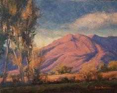 SOLD I Dawn of a New Day I 8x10 I Dix Baines I Fine Artist Original Oil Paintings I Mountains I www.dixbaines.com