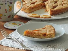 La cucina delle streghe: Crostata con frolla alle mandorle French Toast, Breakfast, Food, Morning Coffee, Meals, Yemek, Eten