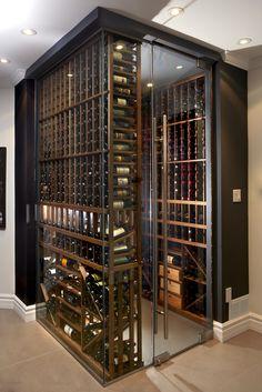 Glass wine rack # wine rack # wine # wine cellar- Weinregal aus Glas Wine rack made of glass shelf# # Wine cellar - Glass Wine Cellar, Wine Cellar Racks, Home Wine Cellars, Wine Cellar Design, Wine Cellar Modern, Wine Cellar Basement, Home Bar Designs, Wine Display, Wine Wall