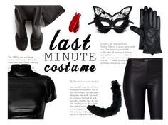 """""""LAST MINUTE COSTUME"""" by krystn101 ❤ liked on Polyvore featuring Rick Owens, Venus, Masquerade and Balmain"""
