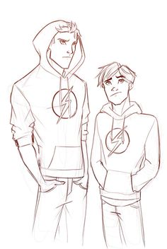 Wally west and bart Allen