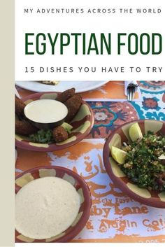 Kushari, falafel, kebab and much more. Egyptian food is delicious and incredibly varied. Read this post to discover all the most mouthwatering Egyptian dishes and flavors | Egyptian cuisine | Traditional Egyptian food | #egypt #traveltips via @clautavani