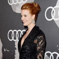Maggie Grace's new red hair