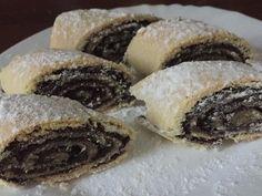 Hungarian Desserts, Hungarian Cake, Hungarian Recipes, Cookie Desserts, Holiday Desserts, Dessert Recipes, World Recipes, Sweet Cakes, Bakery