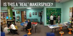 "Recently, I had the unfortunate experience of dealing with criticism.  I was told (not to my face) by a visitor to our school that our library makerspace is not a ""real makerspace"".  This same person stated that our woodshop is a"