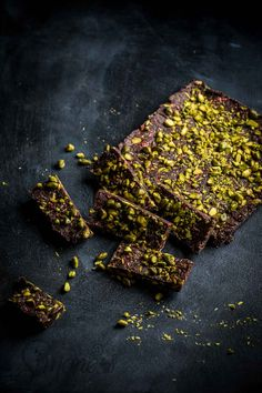 Gezonde chocoladecake met pistache | Simone's Kitchen