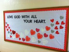 Valentine bulletin board                                                                                                                                                     More