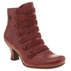 Womens Red Hush Puppies Verona Boots | schuh