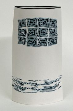 Petrus Griepink - object 3151 Porcelain Clay, Ceramic Clay, Ceramic Vase, Ceramic Pottery, Pottery Sculpture, Sculpture Clay, Contemporary Ceramics, Modern Ceramics, Play Clay