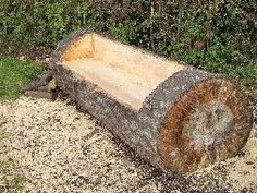 "log benches | The Thrones"" and a log bench - after fun with the chainsaw."