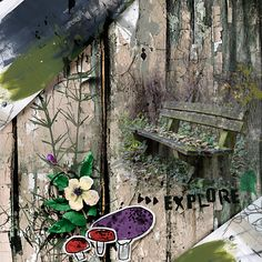 Explore | The Lilypad Team Page, Scrapbooking Layouts, Digital Art, Explore, Gallery, Creative, Painting, Design, Painting Art