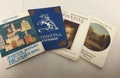 Lot-Postcards-Aeroflot-Soviet-Airlines-Golden-Ring-Russian-Hermitage-c1983