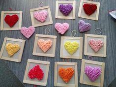 Primary Teaching, Teaching Art, Diy And Crafts, Arts And Crafts, Paper Crafts, Holidays And Events, Valentines Day, Jar, Creative