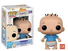 Your Pop! Vinyl Figure collection is about to get a blast from the past! From the golden era of Nickelodeon cartoons comes Rugrats! This Rugrats Tommy Pickles Pop! Vinyl Figure measures approximately 3 tall and comes packaged in a window display box. Funk Pop, Rugrats, Pop Vinyl Figures, Disney Pixar, Disney Pop, 90s Nickelodeon Cartoons, Animation, Tommy Pickles, Otaku