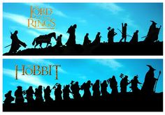 Lord of the Rings (LOTR) and The Hobbit posters