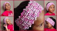 Free Crochet Pattern: Pink Crochet Headband