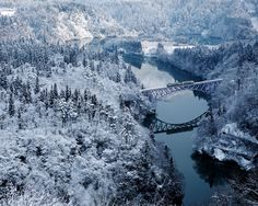 Amazing winter pictures that inspire. These pictures of winter demonstrate the finest winter photography. Explore over 20 winter images. (SEE WINTER PICS) Fukushima, Winter Photography, Landscape Photography, Japan Kultur, Voyager Loin, Winter Pictures, Winter Landscape, Winter Is Coming, Japan Travel