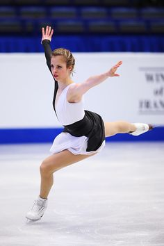 Carolina Kostner of Italy competes in the Ladies Short Program during day 1 of the European Figure Skating Championships at Ostravar Arena on January. Winter Olympic Games, Winter Olympics, World Figure Skating Championships, World Championship, Roller Skating, Ice Skating, Carolina Kostner, Women Figure, Ladies Figure