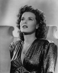 Maureen O'Hara (this pic w/out a bunch of flowers seemingly growing out her head!) ;)