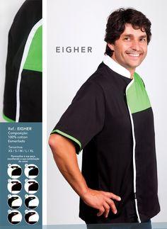 Jaleca Eigher/Eigher chef coat