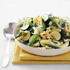 Spring Pasta Recipes // Pasta Verde Recipe