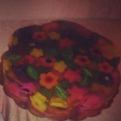 Gelatina de flores !
