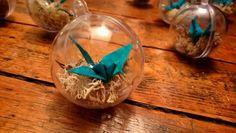Boule de Noël Origam'i