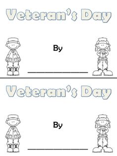 Veteran's Day book