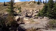 Mystery rocks. Cypress hills Saskatchewan. Sept 2012
