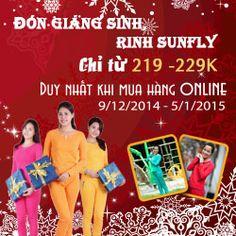 ĐÓn Giáng sinh - Rinh Sunflly giảm giá