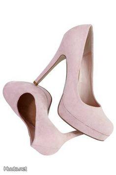 Vaaleanpuinaiset avokkaat / Pink high heels