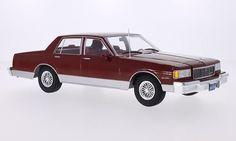 Chevrolet Caprice Classic Sedan 1985 met.-dunkelrot 1:18 Modelcar Group