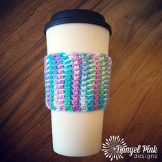 I've been wanting to learn how to do Tunisian Crochet for a long time, and I finally figured it out! This little coffee cozy is the ...