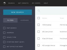 Searchbar ux animation with faceting