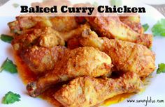 Baked Curry Chicken (grain-free & gluten-free)