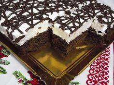 "Hellena ...din bucataria mea...: Prajitura ""Negresa"" Romanian Desserts, Cake Cookies, Cookie Recipes, Bacon, Recipies, Sweets, Eat, Cooking, Ethnic Recipes"
