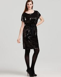 3aab3996c07ba DKNYC Plus Size Ribbon Sequin Dress Women - Plus - Dresses - Bloomingdale s
