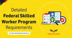 Federal skilled worker program focuses on attracting young skilled workers to Canada who in length contribute to the economic development in the country. Federal Skilled Worker, Need To Meet, Economic Development, Programming, How To Apply, Number, Computer Programming, Coding